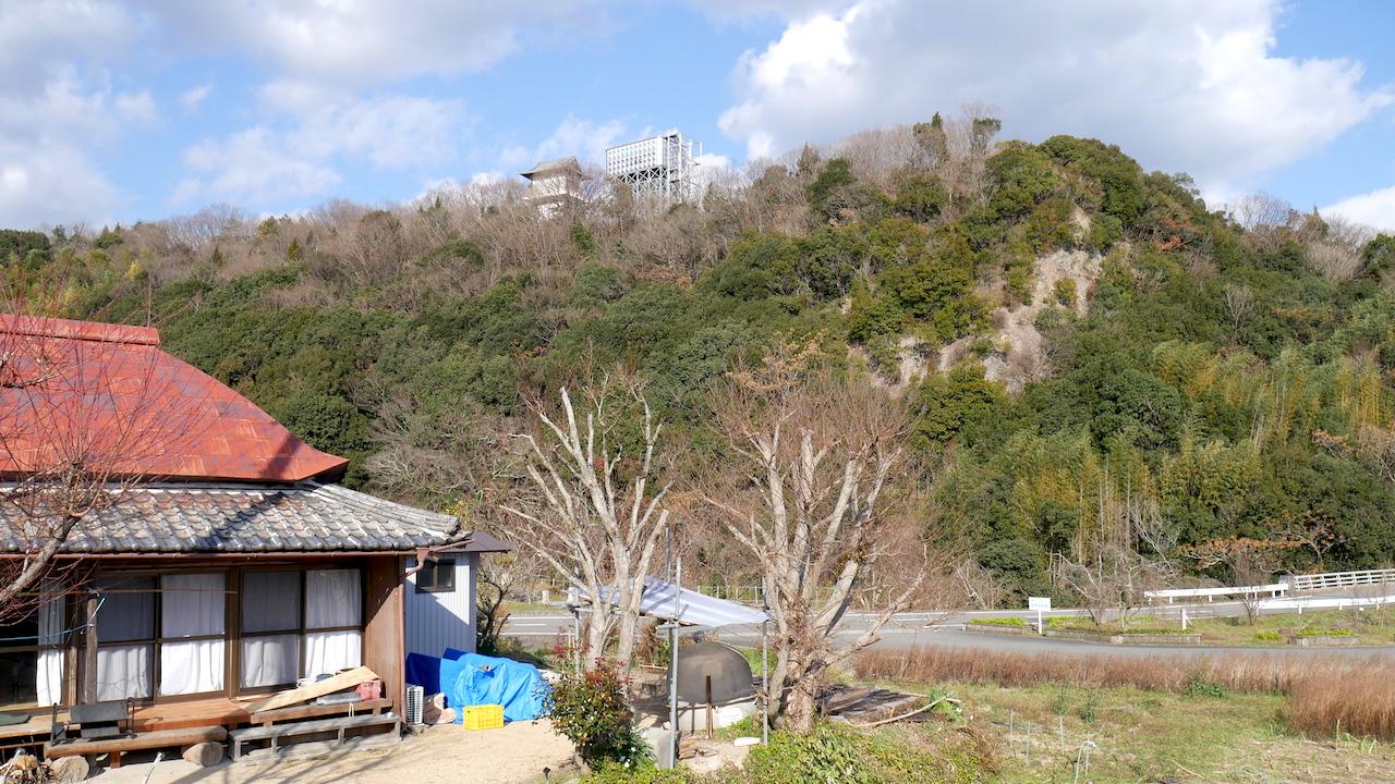 山間の古民家暮らし中