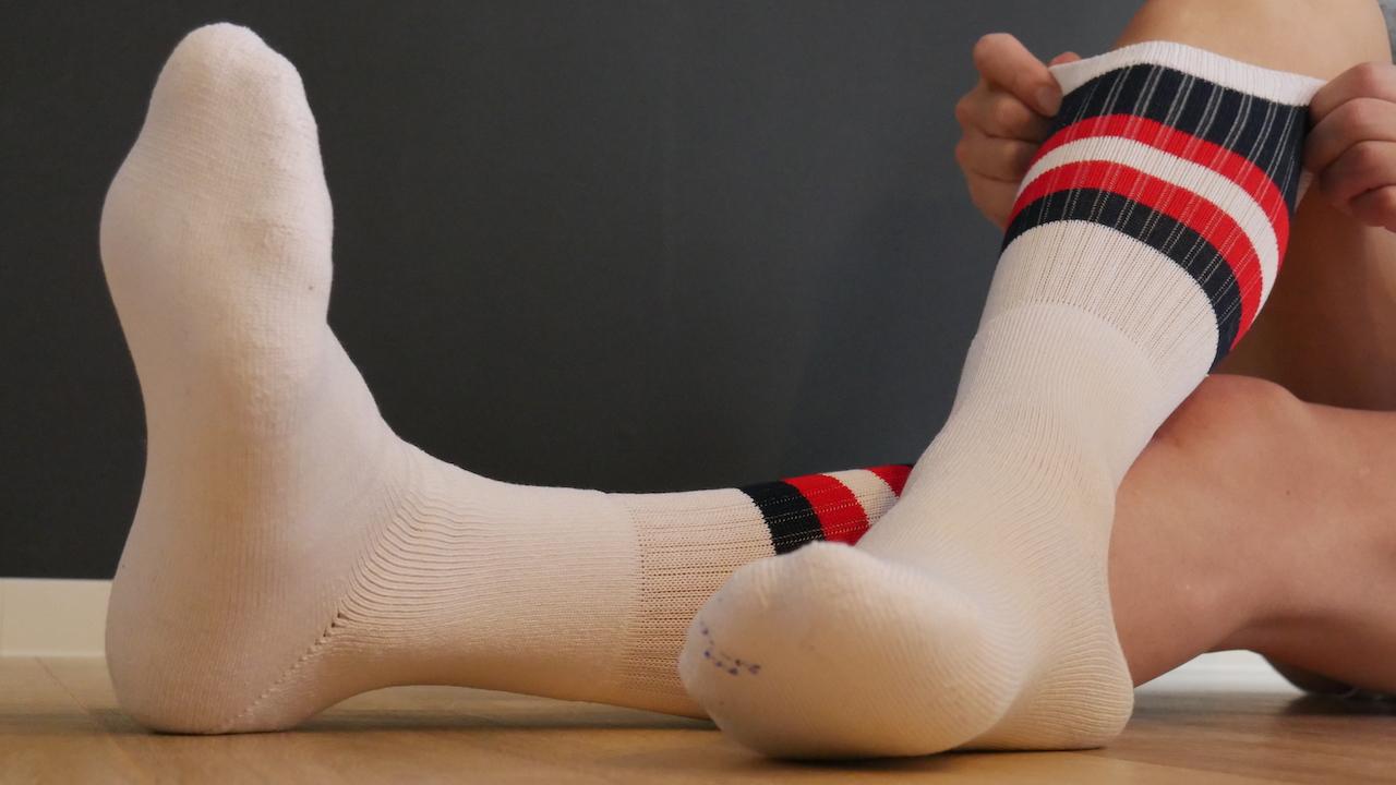 白靴下専門ブログ