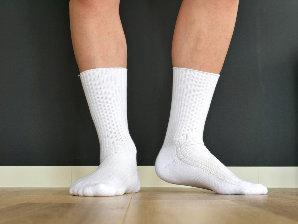 DRAVITEXの効果で、履くだけで健康促進できる靴下のレビュー