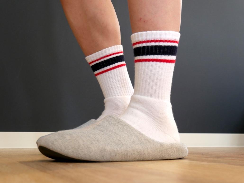 「靴下は白」と決めておくだけで、朝の身支度が早く済む