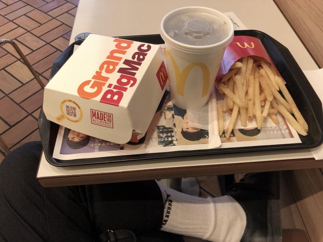 マクドナルドって無性に食べたくなる時ありませんか?